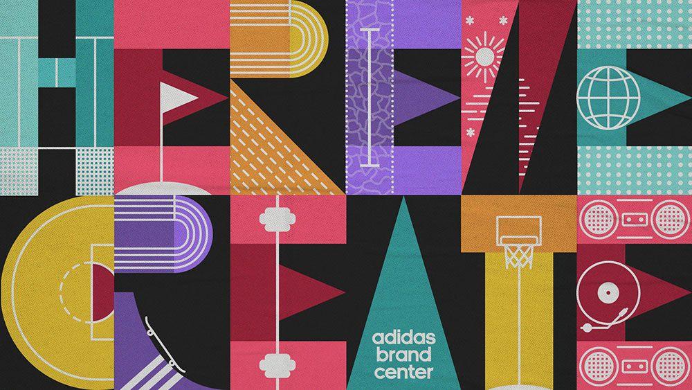 Adidas Brand Center logo