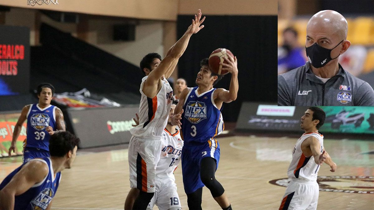 Calvin Oftana NLEX vs Meralco Yeng Guiao