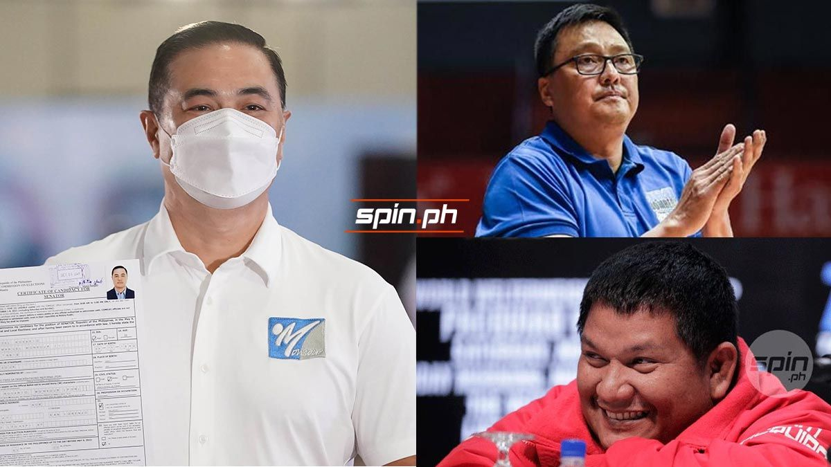 Monsour del Rosario, Vergel Meneses and Buboy Fernandez are vying in the 2022 elections.