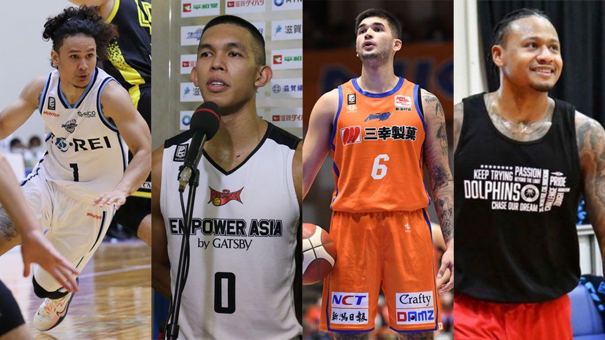 Kobe Paras Thirdy Ravena Juan Gomez de Liano Ray Parks