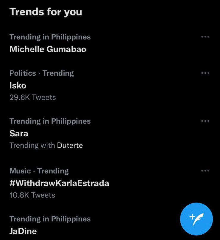 Michele Gumabao trending