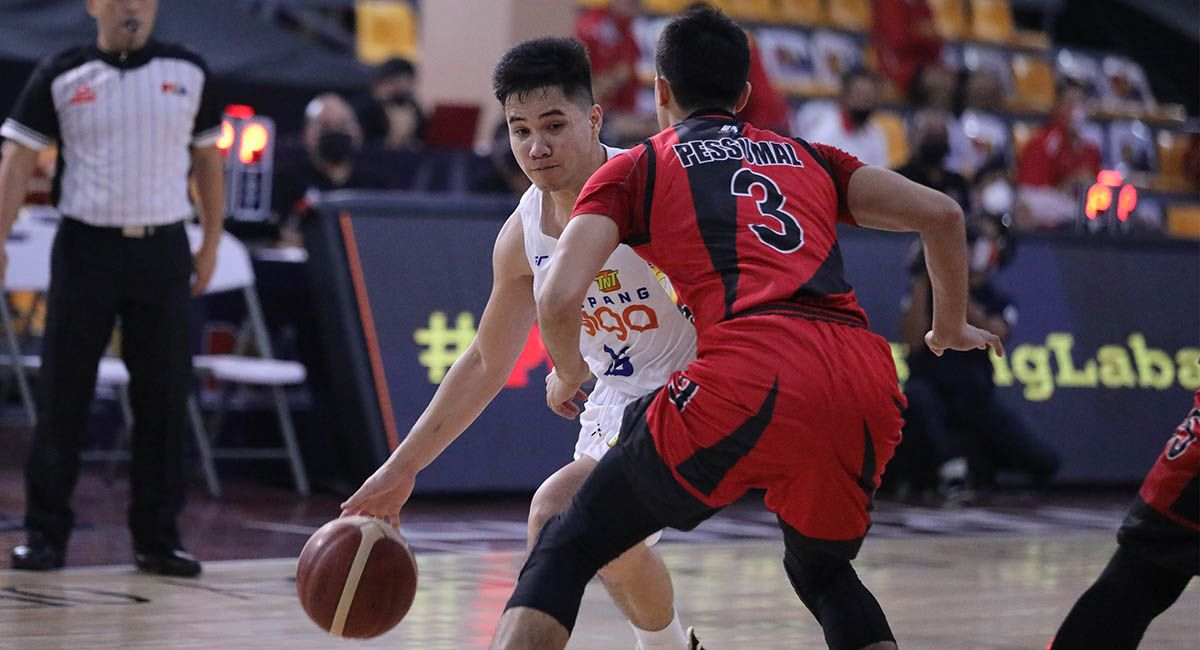 RR Pogoy of TNT torched San Miguel in Game Three.