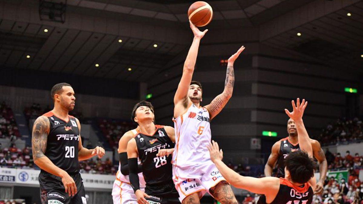 Kobe Paras Niigata B.League