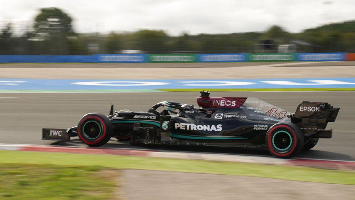 Lewis Hamilton Mercedes Turkish GP