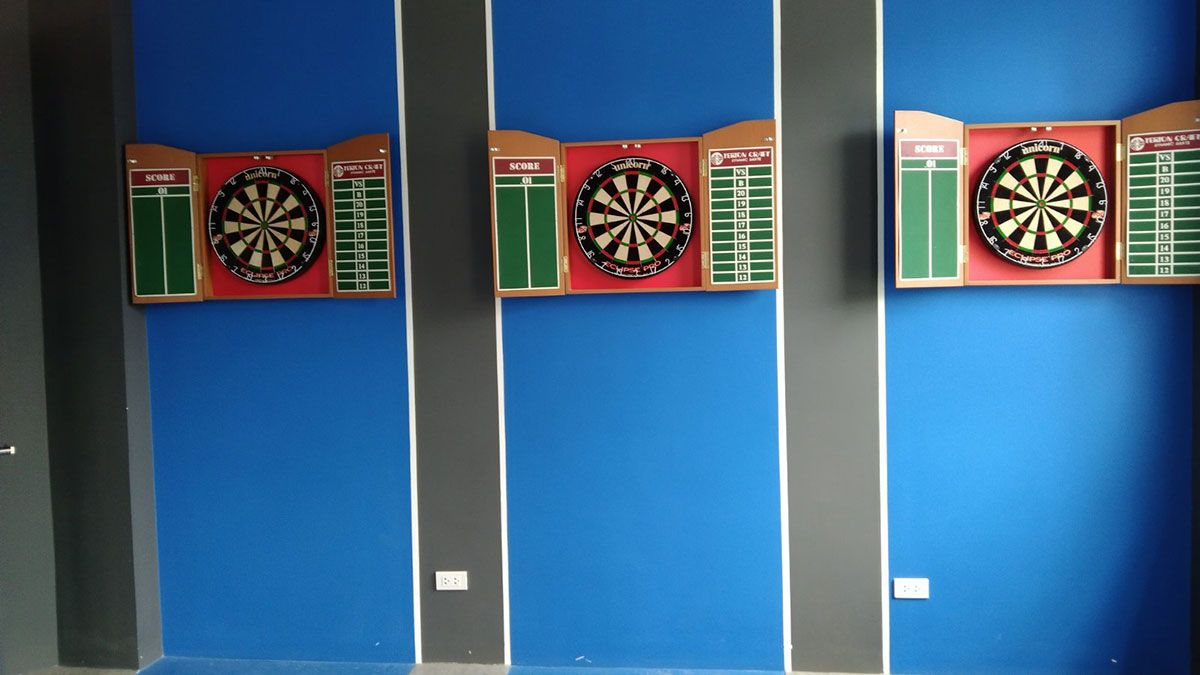 Wes Arena Valenzuela darts hall