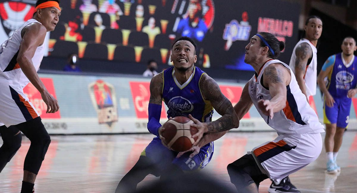 Calvin Abueva and the Hotshots are a win away from the 2021 PBA Philippine Cup Finals.