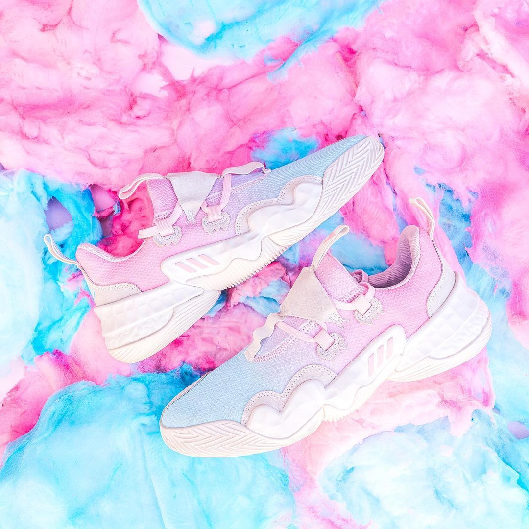 Adidas Trae Young 1 'Icee Cotton Candy'