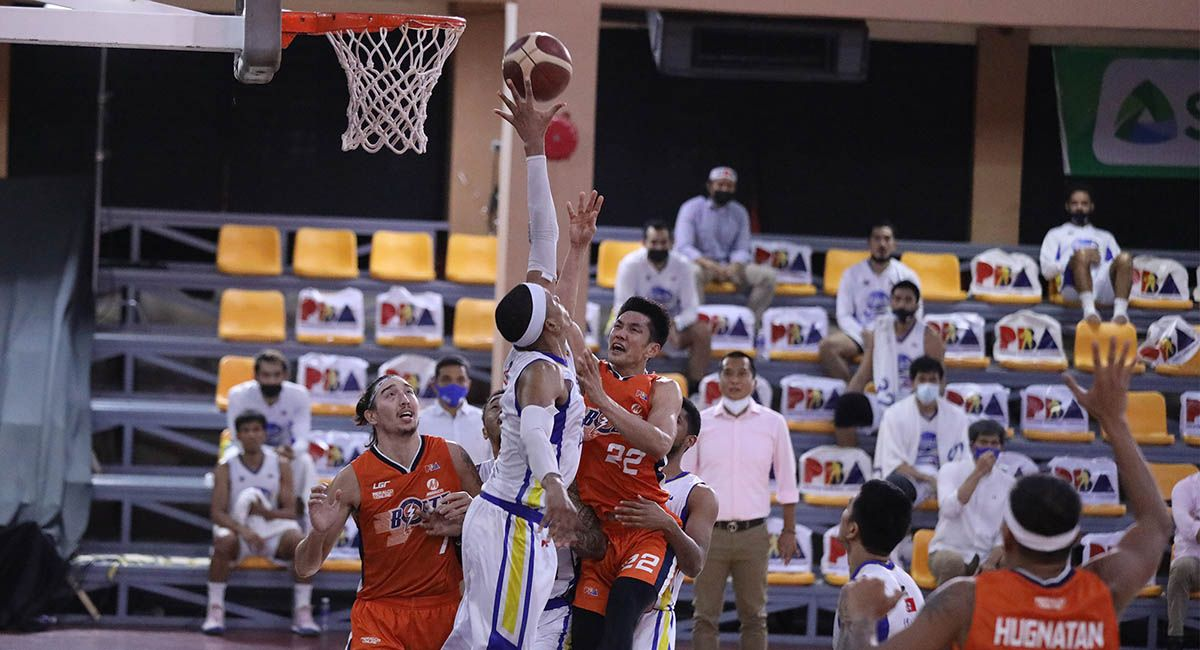 Allein Maliksi led Meralco in Game Five with 29 points.