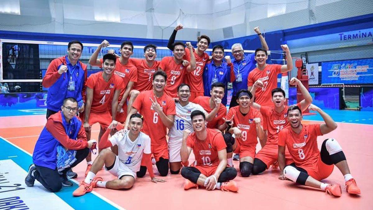 Philippine men's volleyball team