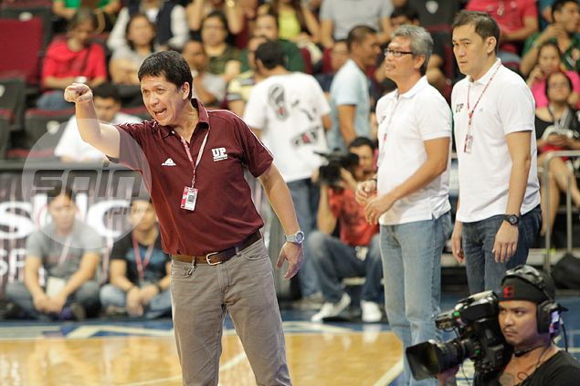 UAAP commissioner asks UP coach Rey Madrid for an explanation regarding ejection from UST game