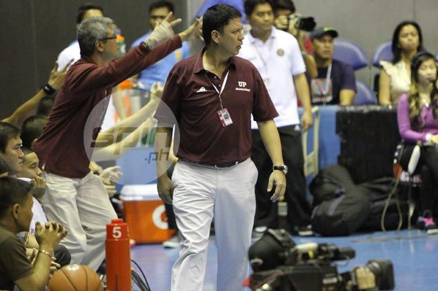 Suspended Maroons coach Madrid gets vote of confidence, 'reminders' from UP dean