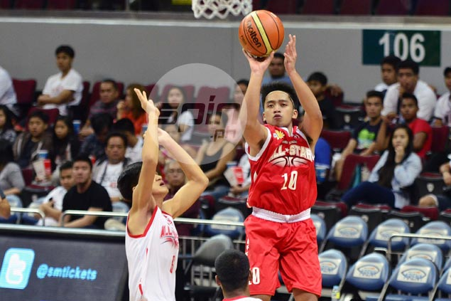 Reyger Dimaunahan carries Team Tolomia past Team Ravena in NBTC Division 2 All-Star Game