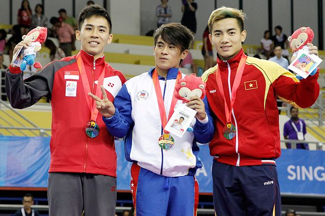 Reyland Capellan eyes golden double in gymnastics after toppingmen's artistic all-around event