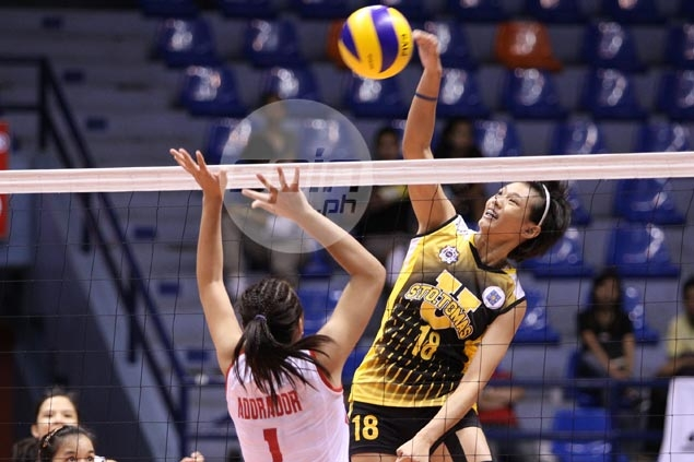 Top UST Tigresses blocker Ria Meneses frustrated by dismal play, lack of confidence