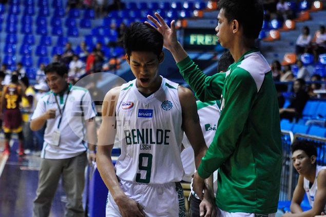 Ricci Rivero's 33 points lead La Salle Greenhills to upset of Arellano in NCAA juniors