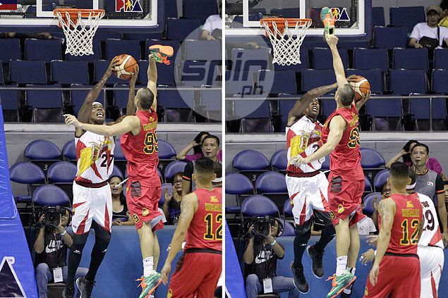 Is Maierhofer's 'shoe-palpal' attempt against Espinas legal? PBA official gives take