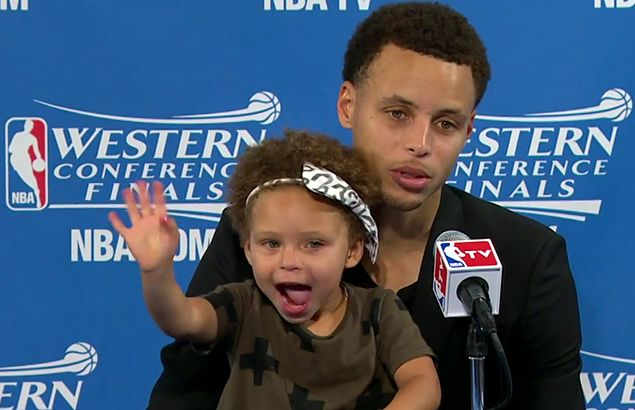 Where's Riley? Steph Curry hopes to bring along adorable daughter in possible Manila comeback