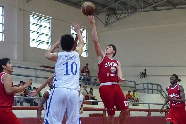Former Green Archer Robert Bolick scores 25 in debut for San Beda's Team B