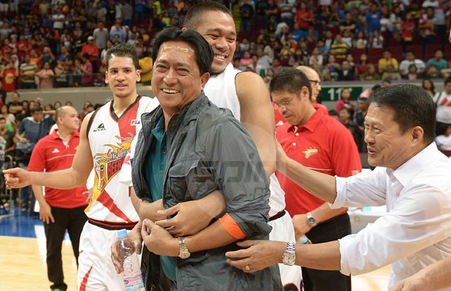 After so much wheeling and dealing, Robert Non confident San Miguel finally found right mix