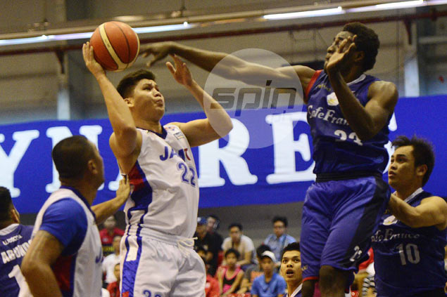 Cafe France scores wire-to-wire win over UP to gain share of D-League lead with Caida