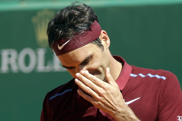 Roger Federer not worried with early exit in Rome, still confident heading into French Open