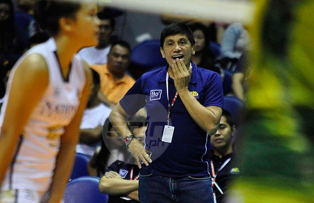 Roger Gorayeb says there's a 50 percent chance he will stay as coach of NU Lady Bulldogs