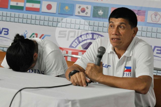 Teary-eyed Gorayeb left to rue 'deflating' calls by referees in PH loss to Taipei