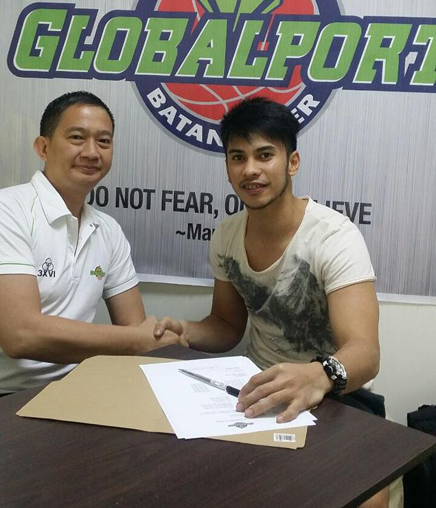 Roi Sumang puts draft snub behind him, signs two-year contract with GlobalPort