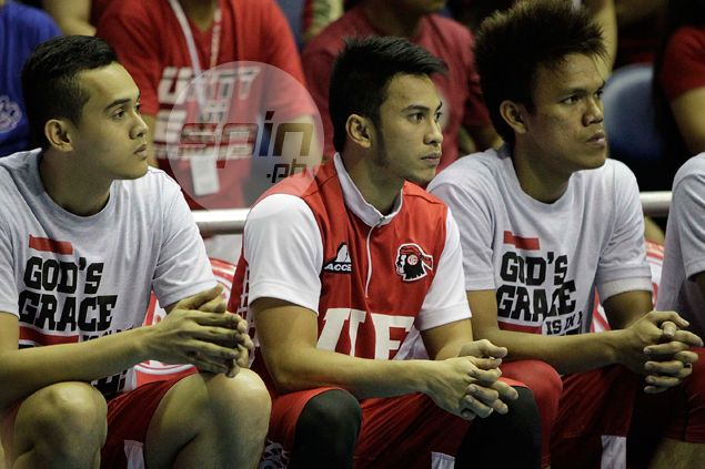 Prodigal Warrior Roi Sumang finally shows up in UE practice, but remains doubtful in game against FEU