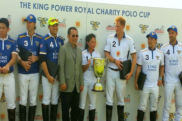 Dream come true as Mikee Romero plays polo match with Prince Harry, world's top player