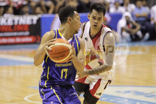 Tubid prides himself about doing the dirty work for the Beermen