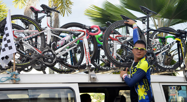 Ronda Pilipinas rivals hard-pressed to stop Navy juggernaut ahead of Stage Three