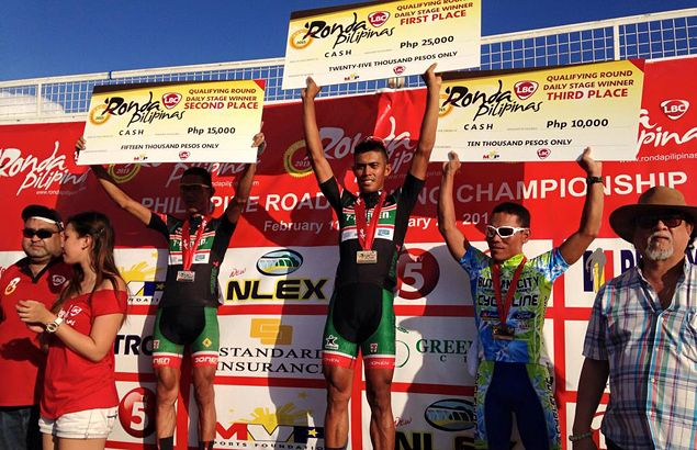 Marcelo Felipe takes second-stage honors as teammate Cayubit seizes Ronda overall lead