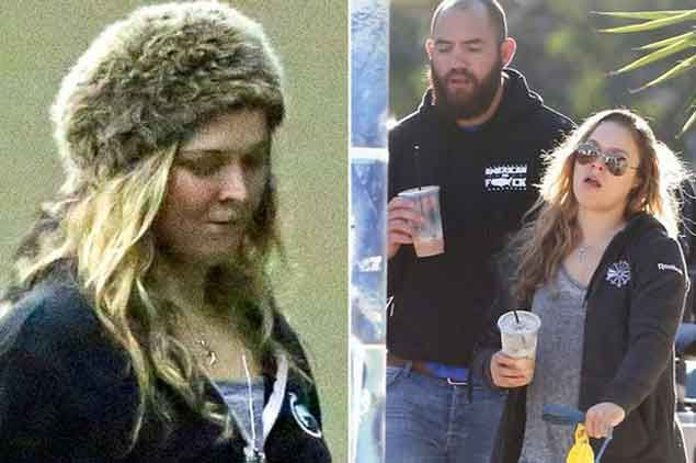 Ronda Rousey seen in public for the first time since shock UFC loss to Holly Holm