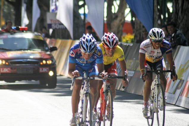 New Ronda leader Valenzuela on top of the world after ruling Baguio ITT race