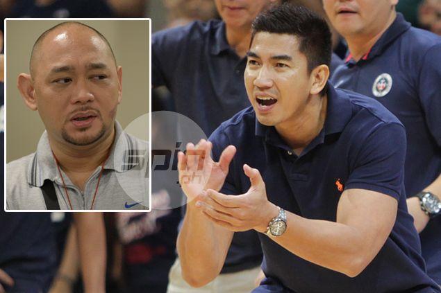 Aldin Ayo brushes off San Beda claim of biased officiating: 'Okay lang, kasi champion kami'