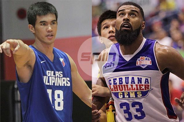 Rivalry takes backseat as top draft prospects Moala Tautuaa, Troy Rosario team up for Gilas