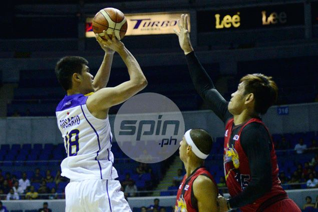 Troy Rosario learns the hard way how rookie life is in TnT's loss at San Miguel's hands