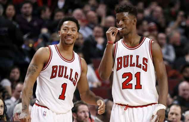 Jimmy Butler pays touching tribute to 'brother, mentor' Derrick Rose after shock trade