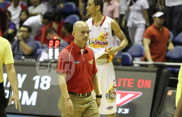 Rain or Shine's opening-day assignment vs San Mig leaves Yeng in foul mood