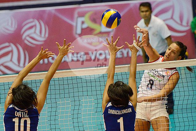 Petron Blaze spikers sustain momentum, overwhelm RC Cola behind big game from Inck