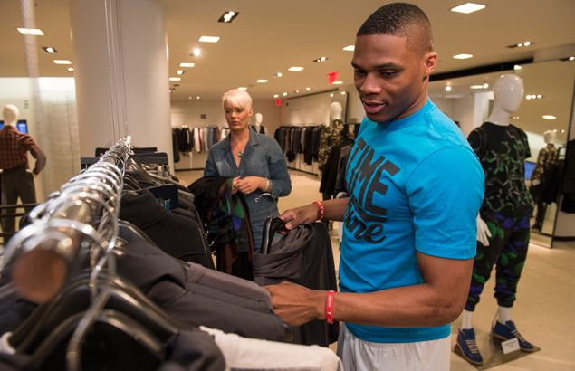 Russell Westbrook adds to imprint on fashion world with new eyewear collection