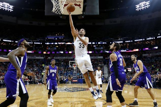 Ryan Anderson ties career-high 36 as undermanned Pelicans hand Kings' third straight loss