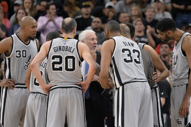 San Antonio Spurs won't rest stars in final two games against Golden State Warriors
