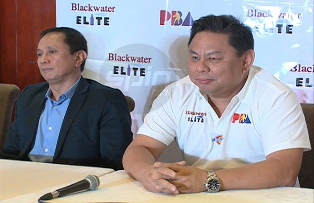Blackwater team owner Dioceldo Sy looking to reinforce team with young, take-charge players
