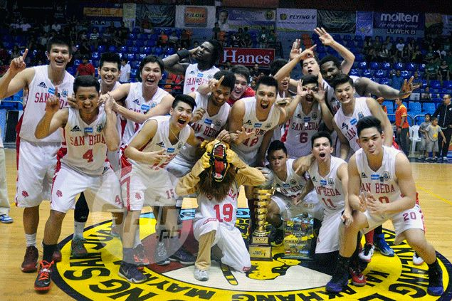 San Beda Red Lions are Filoil Cup champs after hammering La Salle in final