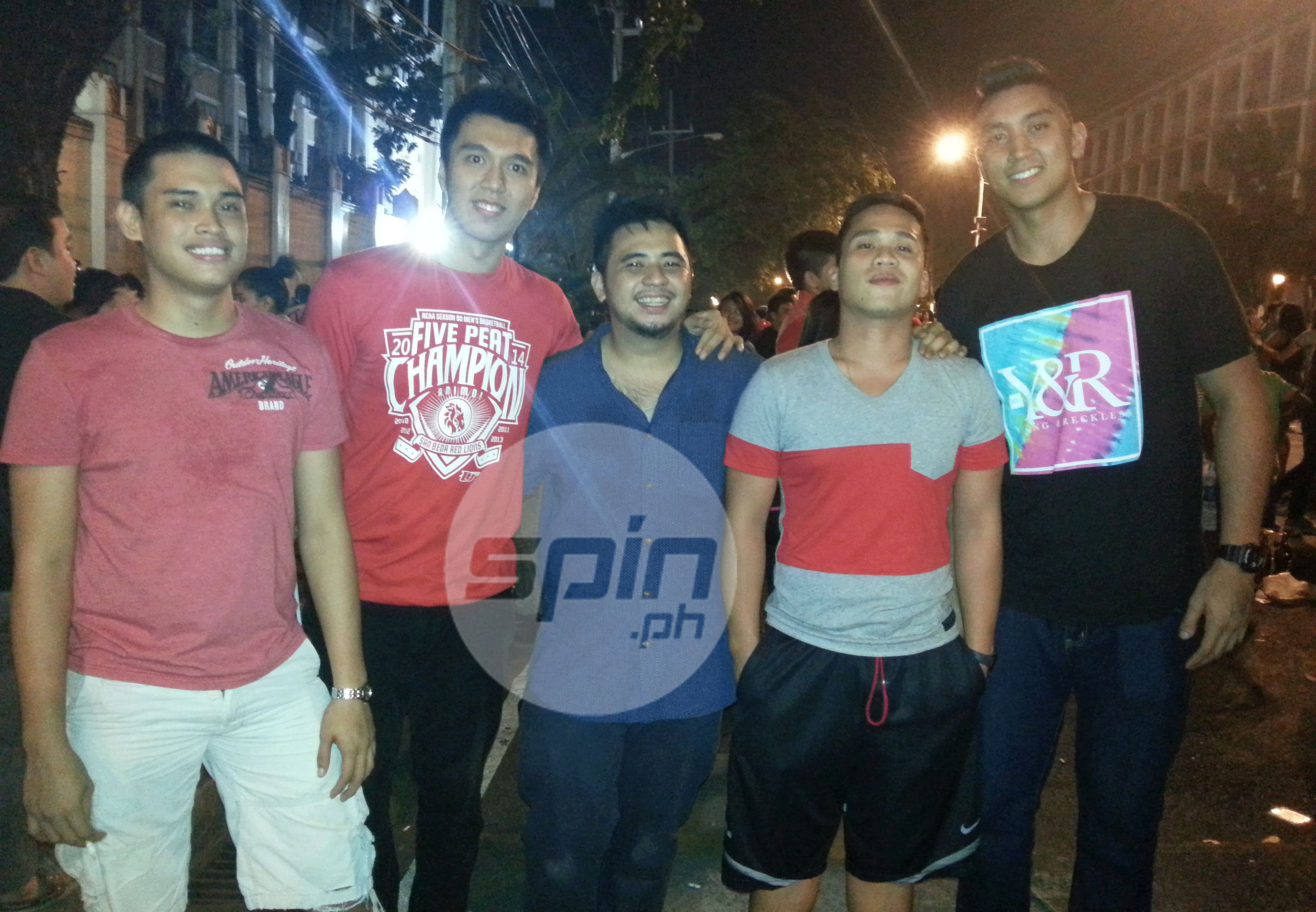 Site of historic Mendiola rallies turns into party place as San Beda fetes NCAA champs