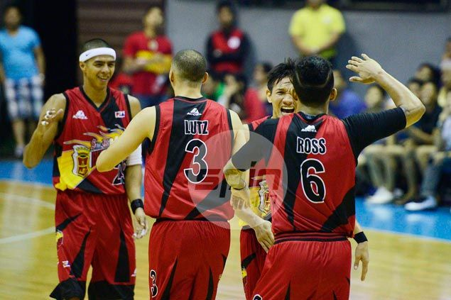 Rampant San Miguel Beer defuses TNT to move on verge of outright PBA semifinal berth