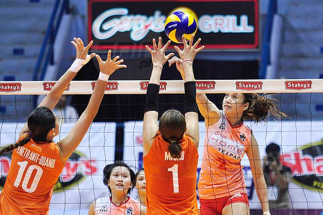Turbo Boosters survive huge Power Attackers' fightback to stay in hunt for V-League Finals berth