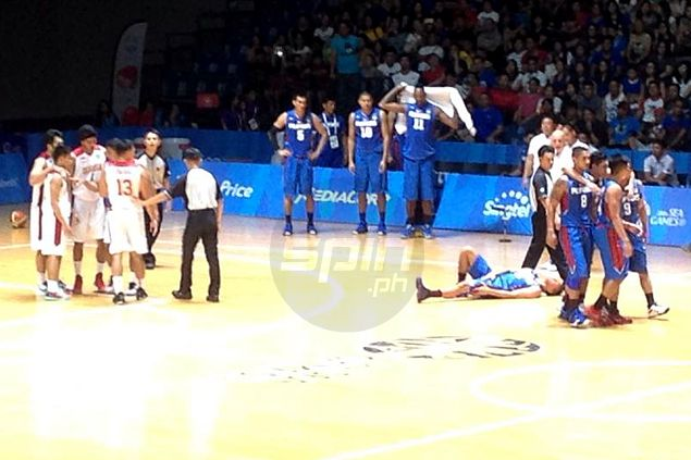 Scottie Thompson twists ankle against Indonesia, doubtful for next Gilas cadets match